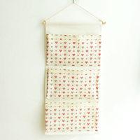 Wall-mounted Storage Hanging Bag Cotton and Linen Letter Door Hanging Bag Waterproof Sundries Storage Hanging Bag