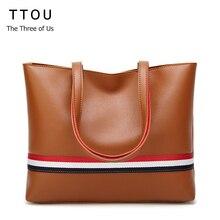 TTOU femmes sac hiver sacs fourre-tout mode sacs à main grand fourre-tout en cuir italien sacs Bolsas Femininas pas cher Estilo Europeu E sac