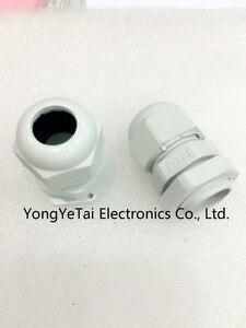 Горячая продажа Бесплатная доставка PG11 водонепроницаемые пластиковые кабельные соединители нейлоновые фиксированные головки