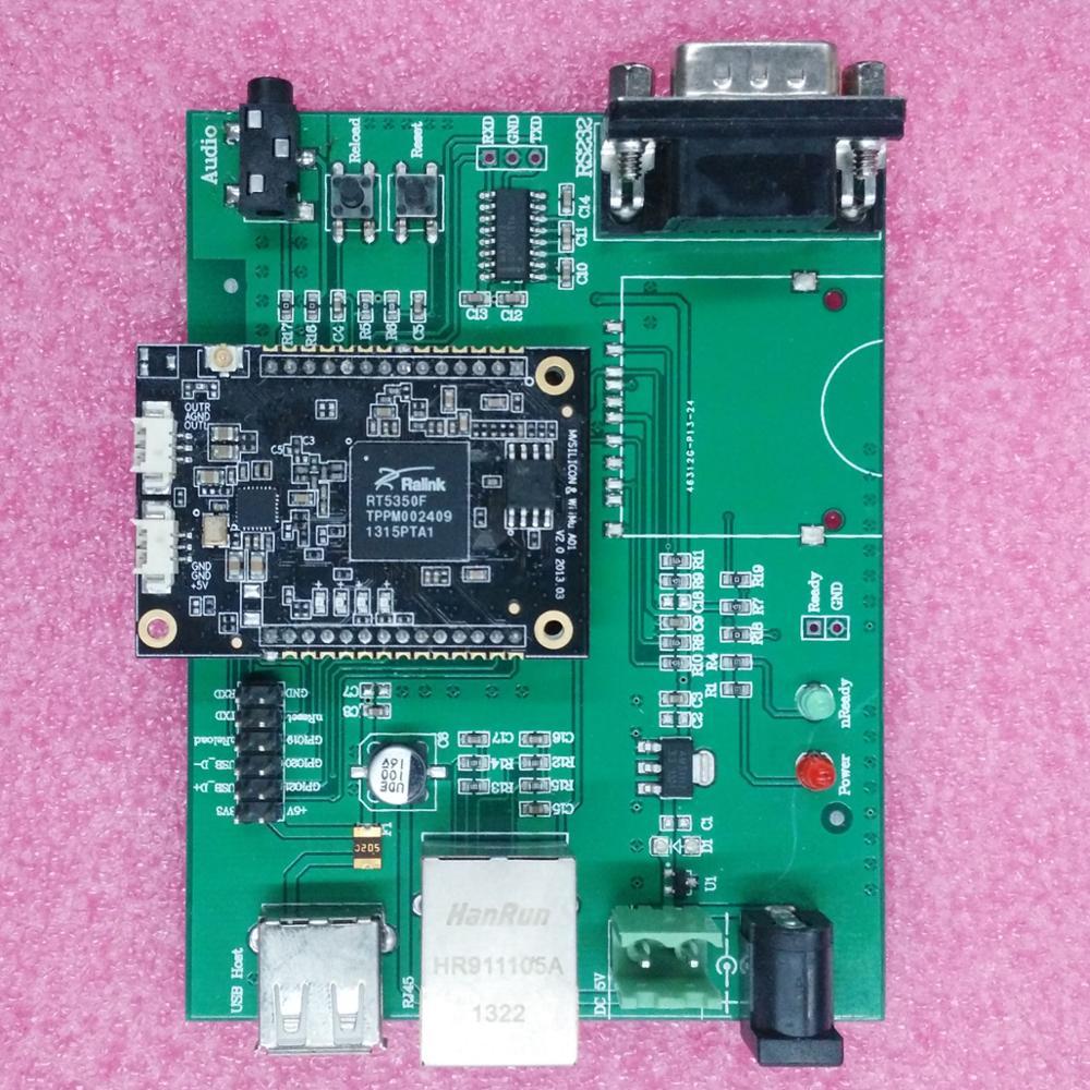 Módulo wifi de transferencia Ethernet Reling RT5350 módulo wifi inalámbrico/interfaz USB/módulo de enrutamiento wifi