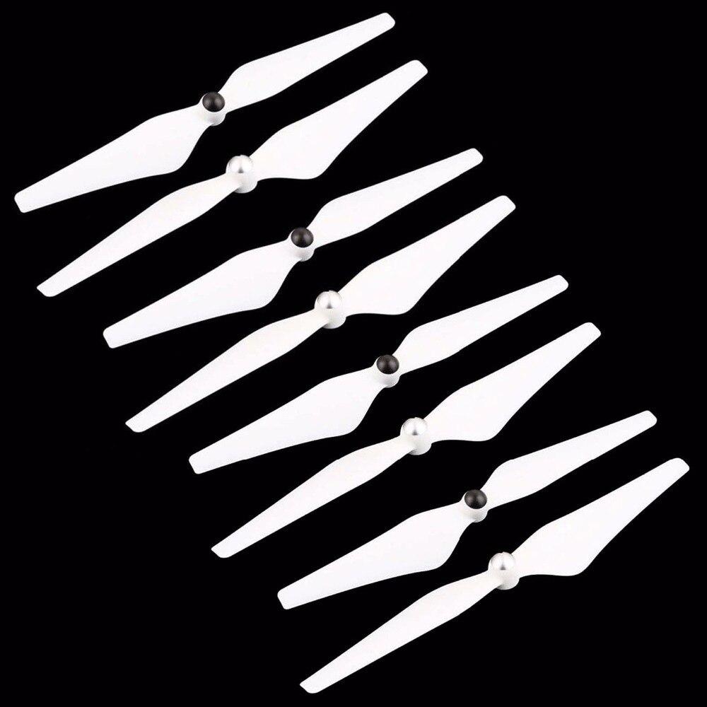 8 Uds 9450 auto bloqueo hélices para DJI Phantom 2 3 F450 Drone CW CCW AirScrew de accesorios cuchillas con rosca accesorio