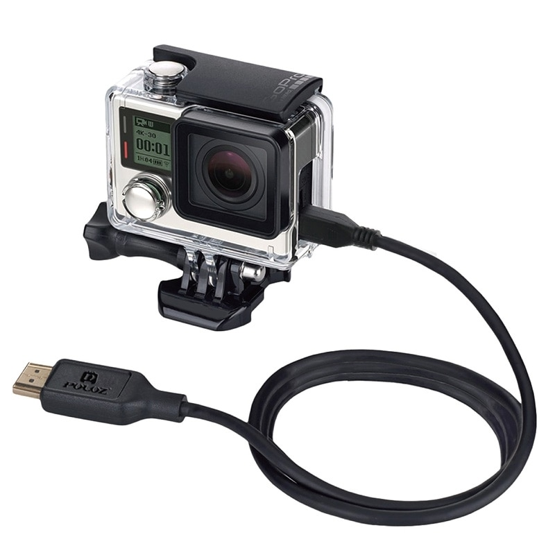Кабель PULUZ Video 19 Pin HDMI to Micro 5 Pin HDMI для GoPro HERO4/3 +/3, длина 1,5 м