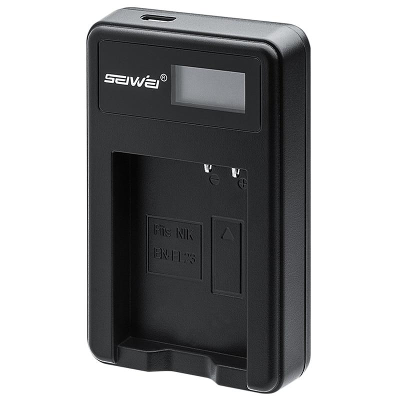 EN-EL23 ENEL23 USB chargeur de batterie avec écran LCD pour Nikon P600 P610S S810C P900S