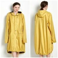 long raincoats women poncho waterproofoutdoors rain coat raingear jackets female chubasqueros impermeables mujer big size