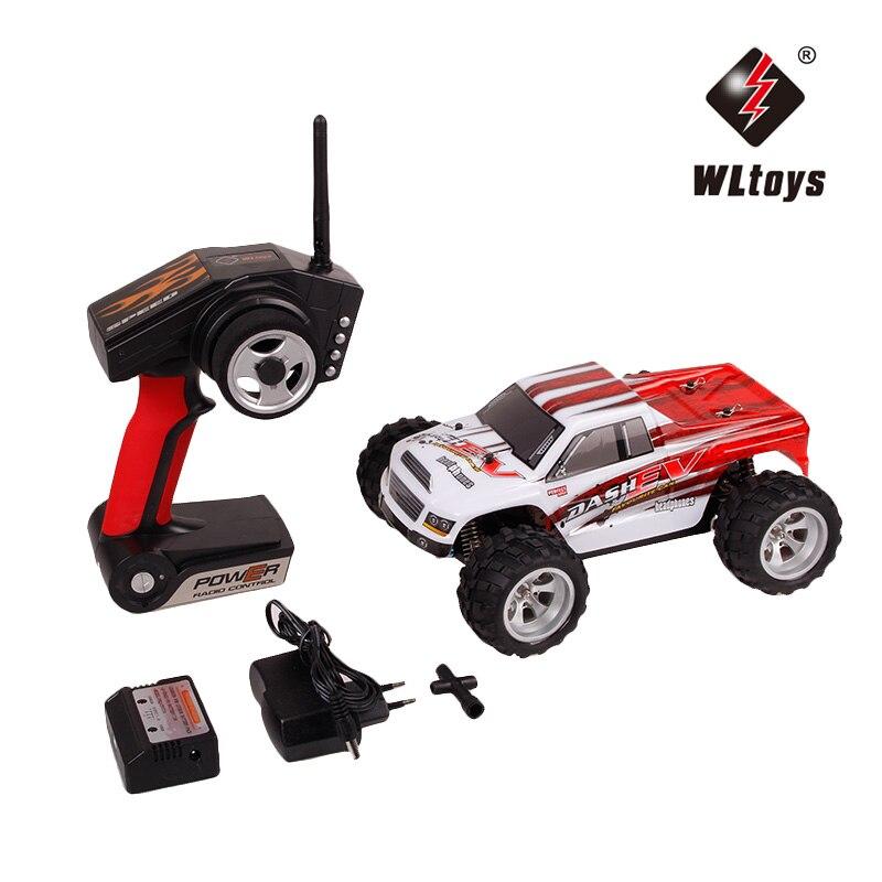WLtoys A959-B 1:18 4WD Buggy Remote Control Car Radio-controll Car High speed RC Car 70km/h Off Road RC Racing Car A969-B A979-B enlarge