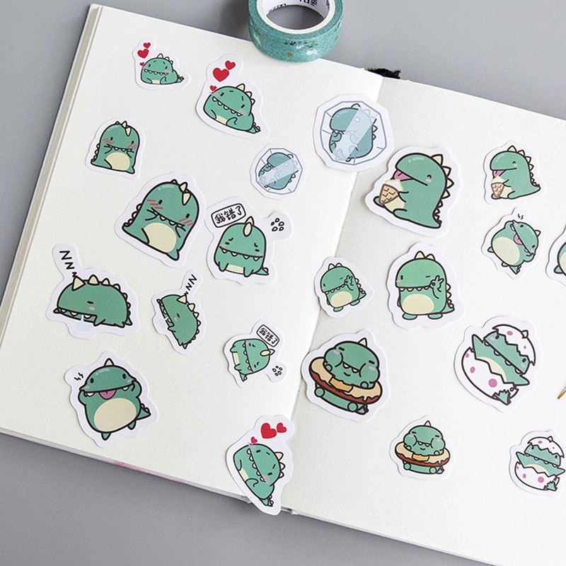 40 unids/pack diversas expresiones estrella Paquete de pegatinas de pegar DIY libro de mano foto albun decorar correo notas/etiqueta conveniente