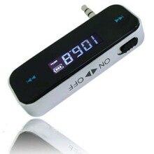 Mini Wireless Transmitter 3,5mm In-auto Musik Audio FM Transmitter Elektronische Auto Mp3-player 3,5mm Auto Display 3,5mm mp3 auto