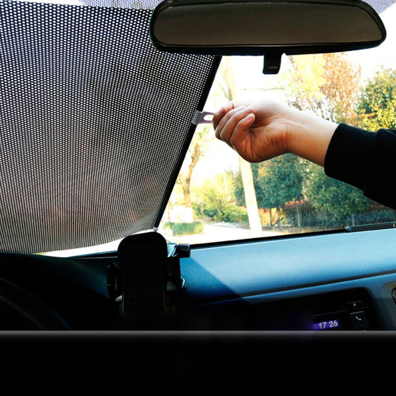 40*60 cm/58*125 cm retrátil pára-brisa do carro viseira sun sombra auto frente traseira janela lateral blinds sun shades anti uv