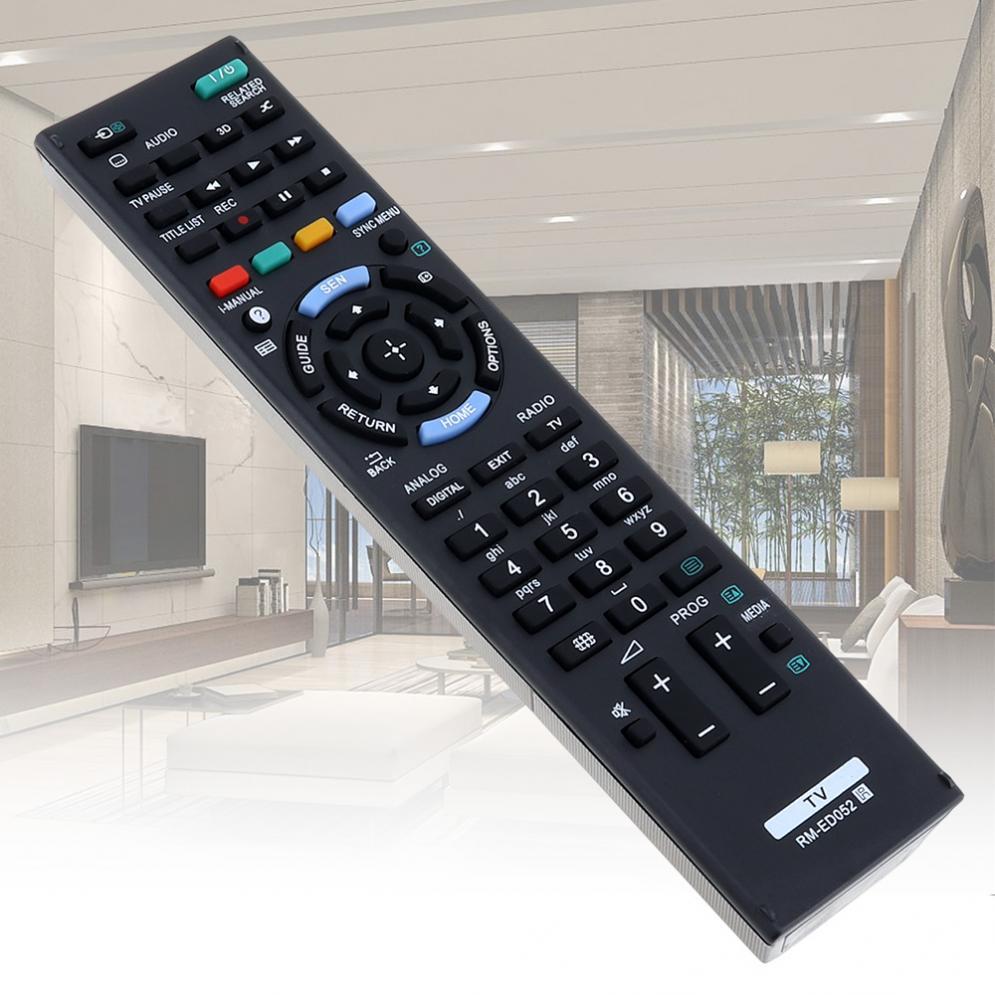 Control remoto de TV RM-ED052 con Larga Distancia de Transmisión para Sony RM-ED052 / RM-ED050 / RM-ED053 / RM-ED060/RM-ED046/