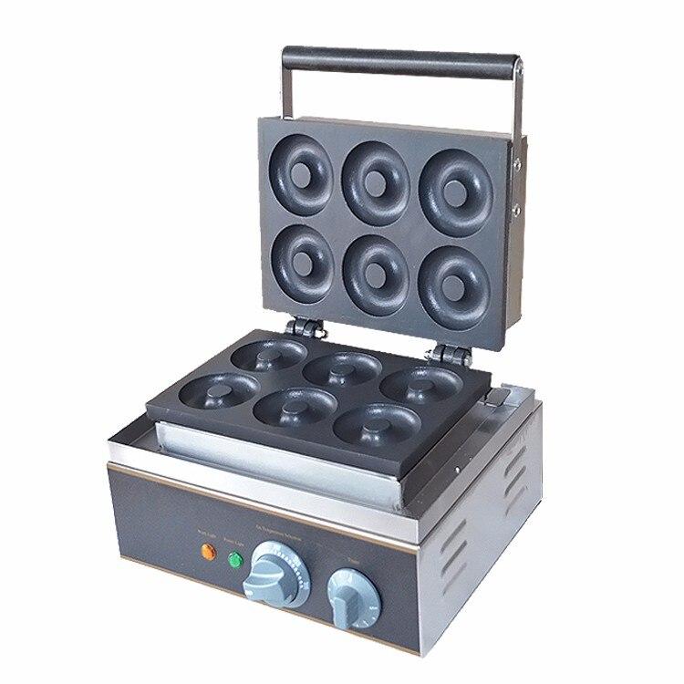 CE probado comercial eléctrico de acero inoxidable Donut fabricante/Donut que hace la máquina con buen precio