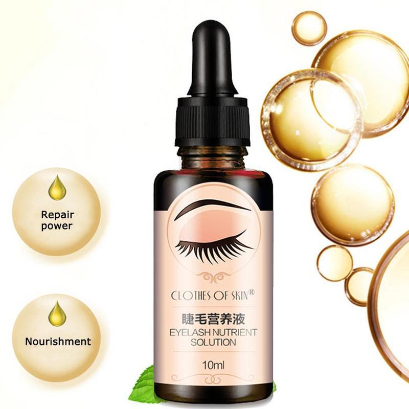 10 ml cílios crescimento olho soro líquido cílios realçador vitamina e tratamento natural cílios rímel cuidados com os olhos nutritivos