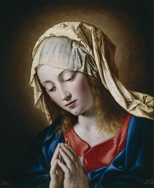 wholesale painting # TOP religion ART # Madonna  La Virgen en meditacion # print canvas oil painting