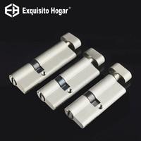 Irregular Security 75 80 90mm Door Lock Brass Cylinder Single Open Knobs Eccentric Entrance Bedroom Cylinder Copper