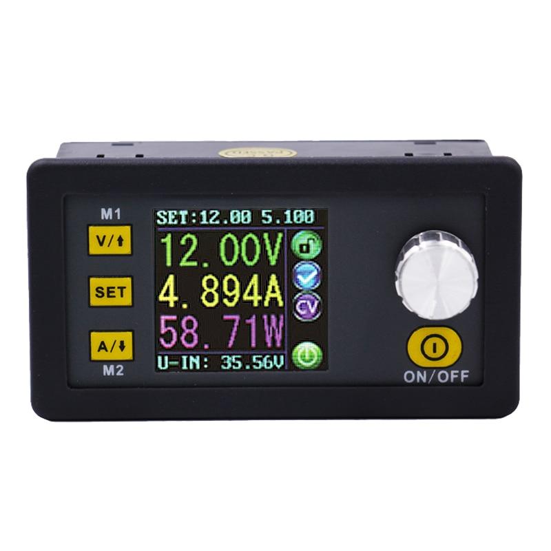 DPS5015 50 в 15A Программируемый Блок питания преобразователь постоянного тока амперметр вольтметр измеритель напряжения понижающий