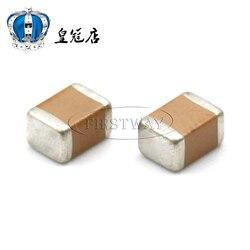 5 50 pçs/lote SMD cerâmica capacitor 1812 UF 100 V 107M 20% X7R não-polar capacitor 100UF 4532 cerâmica