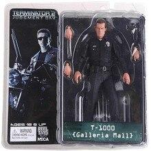 "¡Envío gratis! figura de acción NECA The Terminator 2 T-1000 Galleria Mall figura de juguete de 7 ""18cm modelo de juguete # ZJZ006"