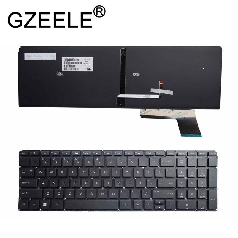 GZEELE جديد الإنجليزية لوحة مفاتيح إتش بي الحسد Touchsmart M6-K سلسلة لوحة المفاتيح PK130UM2D00 V140902DS1 M6-K015DX 725450-001 كمبيوتر محمول أسود