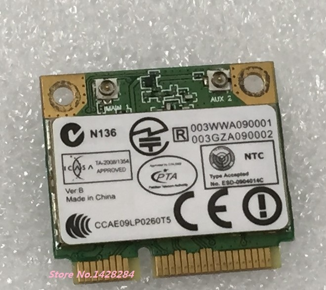 SSEA-tarjeta inalámbrica para ordenador portátil, venta al por mayor, para Atheros AR5B93,...