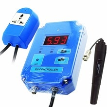 Appareil de contrôle numérique de mètre de contrôleur de pH avec laction facultative de HI/LO 0.00 ~ 14.00pH Solution remplaçable de CO2 délectrode de BNC-220V