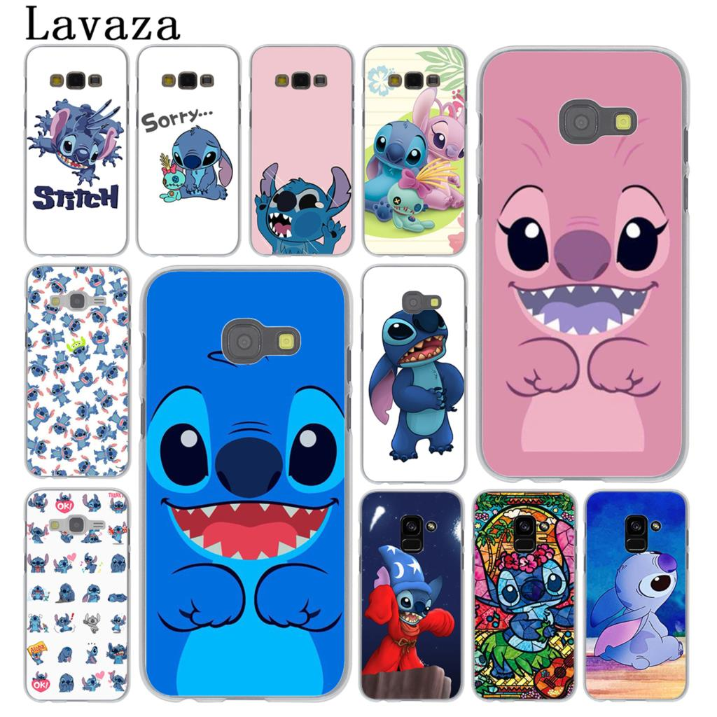 Lavaza nette cartoon Lilo & Stich Telefon Fall für Samsung Galaxy Note 10 9 8 A9 A8 A7 A6 Plus 2018 A3 A5 2017 2016 2015 A2 Abdeckung