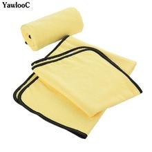 Супер абсорбент Автомойка микрофибры Полотенца чистки автомобиля сушка ткань очень большой Размеры 92*56 см сушки Полотенца