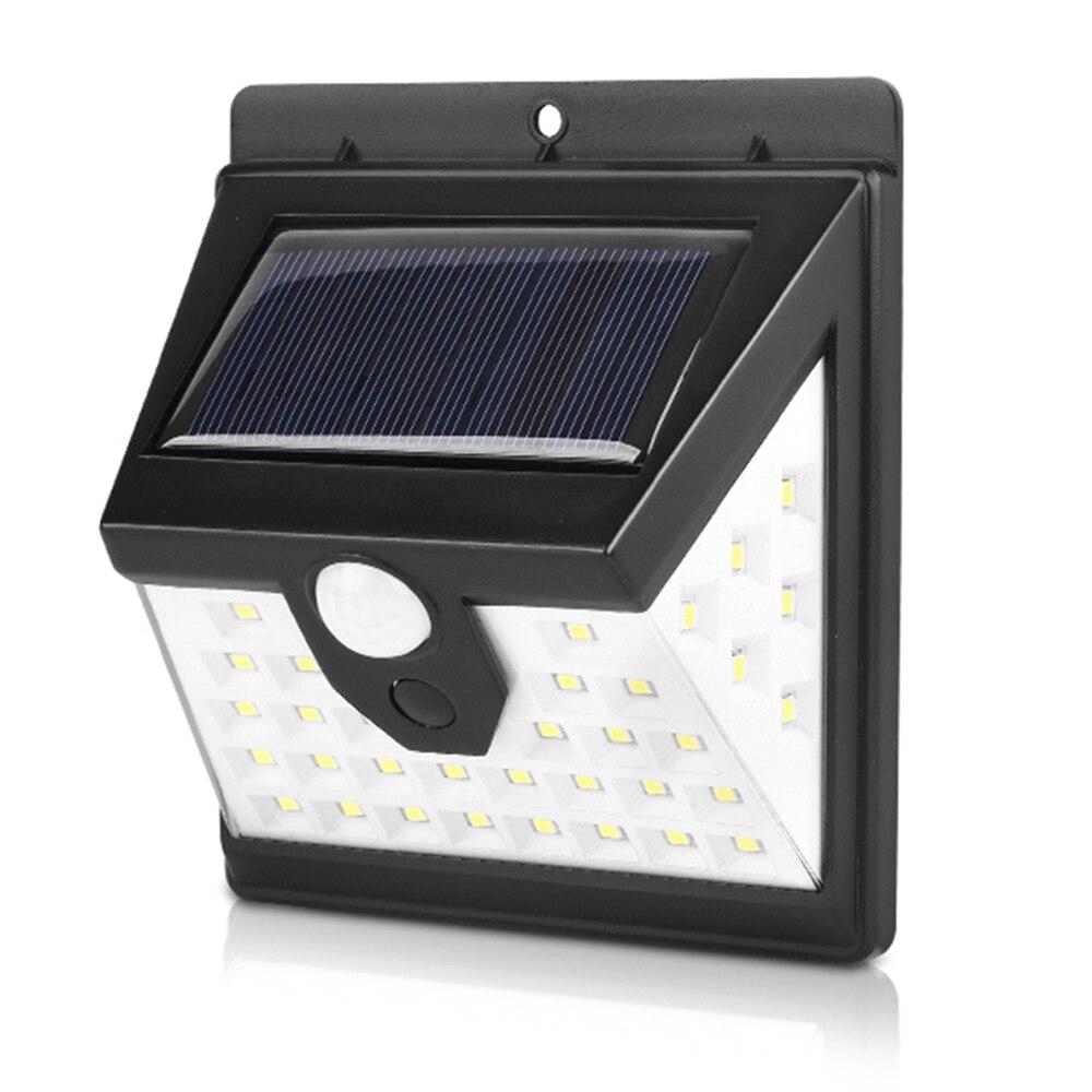 Luz de pared con Sensor de movimiento impermeable al aire libre con luces DIDIHOU alimentadas por energía Solar