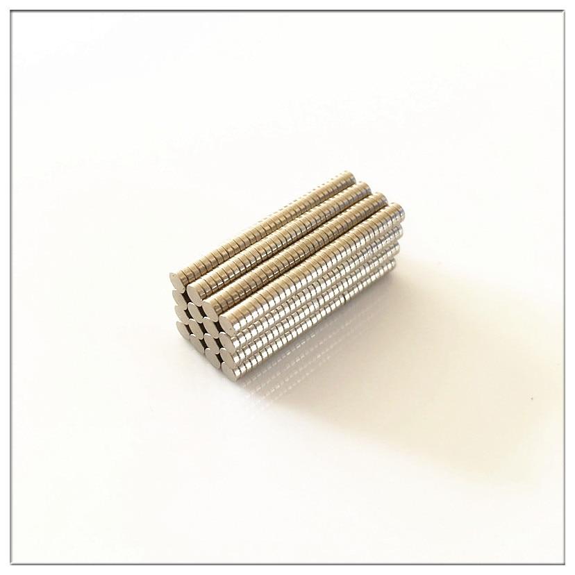 Shipping1000pcs grátis Massa Redonda Pequena Neodímio Ímãs 3mm x 1mm N35 Super Poderosas Strong Rare Earth NdFeB Magnet