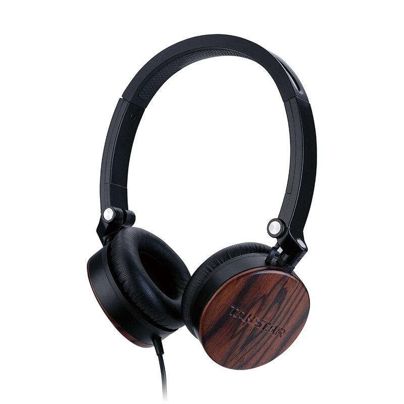 Takstar-auriculares MFi estéreo portátiles, de sándalo de 750 ML, con botón de Control y micrófono, vienen con bolsa portátil