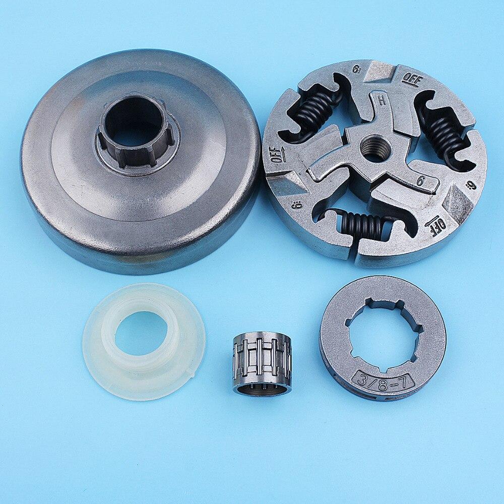 Комплект подшипников для барабана сцепления 3/8-7T, для Husqvarna 359 357XP 357 XP EPA 355, запчасти для бензопилы