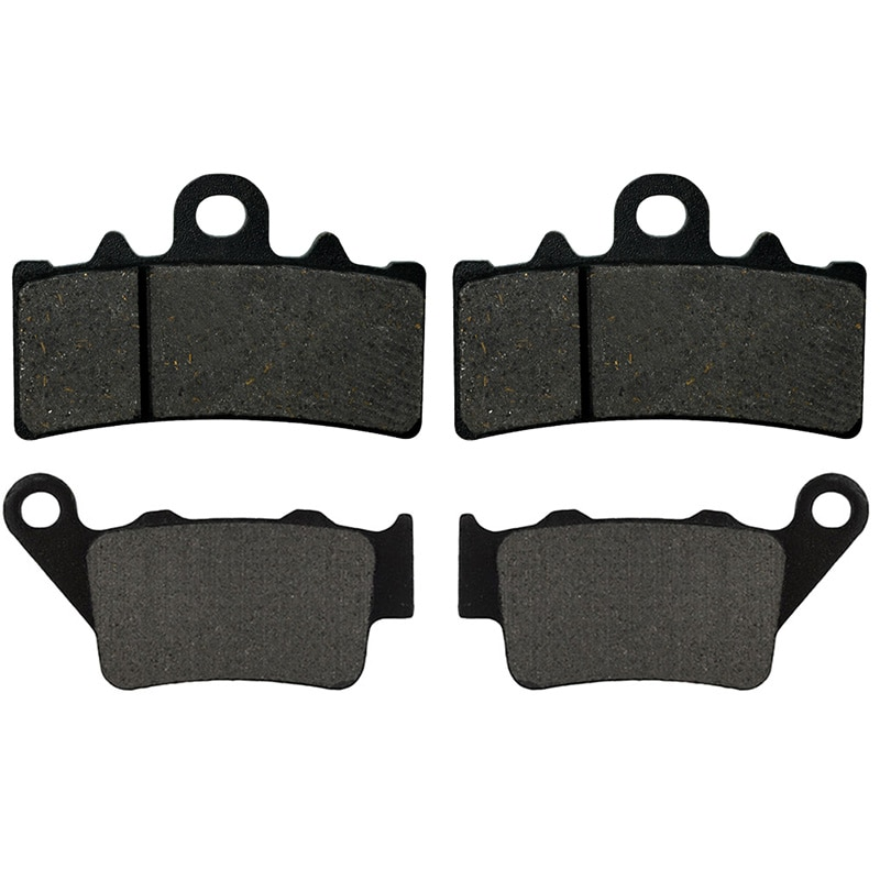Motorcycle Front and Rear Brake Pads for 125 200 250 390 4T RC125 RC200 RC250 C390 RC 125 200 250 390 2011-2018