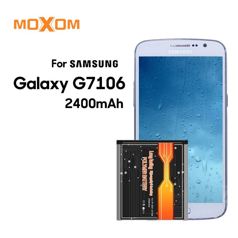MOXOM baterías para Samsung Galaxy G7106 B-B220AC/AE EB-B220AE 2400mAh batería para Samsung Galaxy gran 2 G7102 G7106 G7100