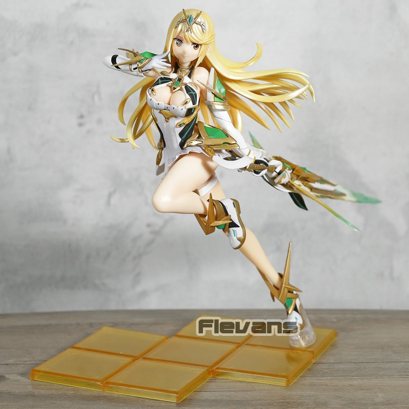 Xenoblade Chronicles 2, Mythra Hikari Fighting Ver. Figura de PVC a escala 1/7, juguete de modelos coleccionables