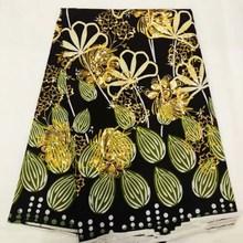 Wzory typu African Wax tkaniny cekiny wosk tkaniny afryki drukuj tkaniny nigerii afrykańska tkanina Ankara FF3759