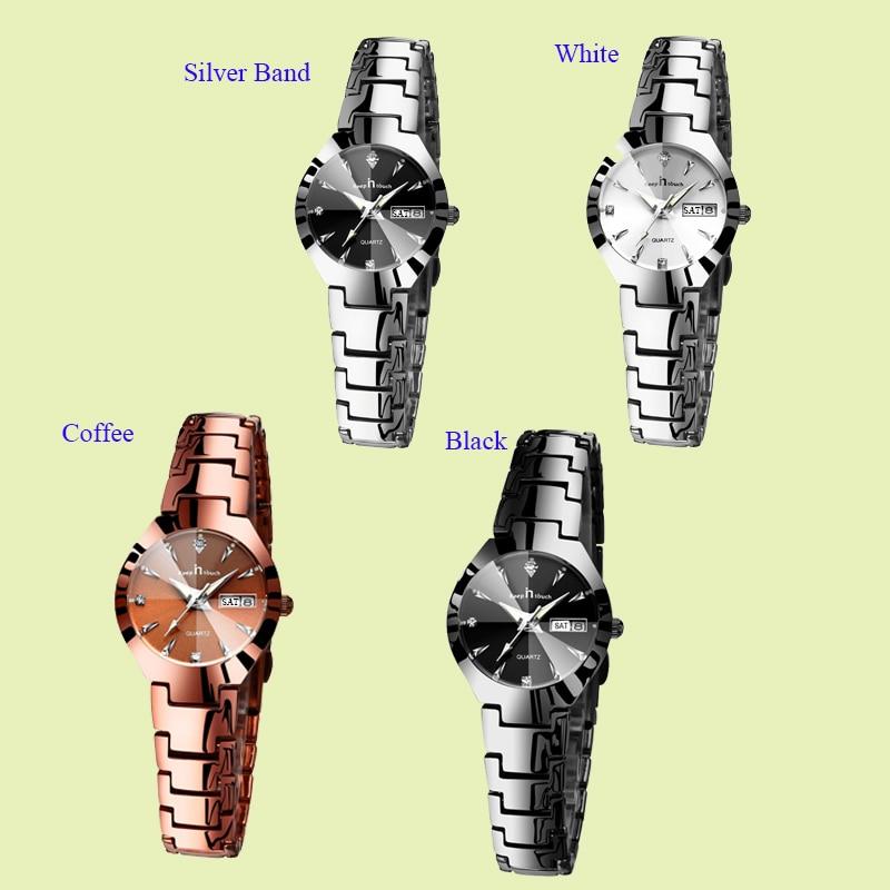 KEEP IN TOUCH Brand Luxury Lover Watches Quartz Calendar Dress Women Men Watch Couples Wristwatch Relojes Hombre 2020 With Box