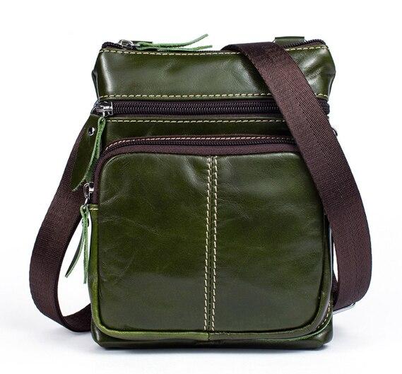 Мужская винтажная сумка-мессенджер из натуральной кожи, вертикальный участок первого слоя из коровьей кожи, на молнии, маленькая боковая сумка-мессенджер