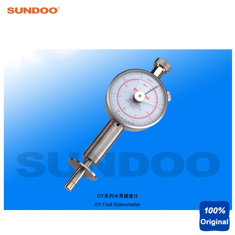 Esférómetro de durómetro de fruta analógica Sundoo GY-3