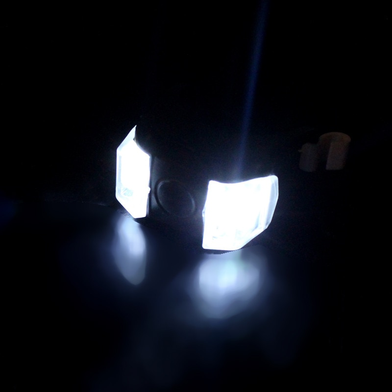 New Silicone Iluminação CONDUZIU a Lâmpada de Luz de Segurança Da Bicicleta Bicicleta Lanterna RD Dropshipping Z0702