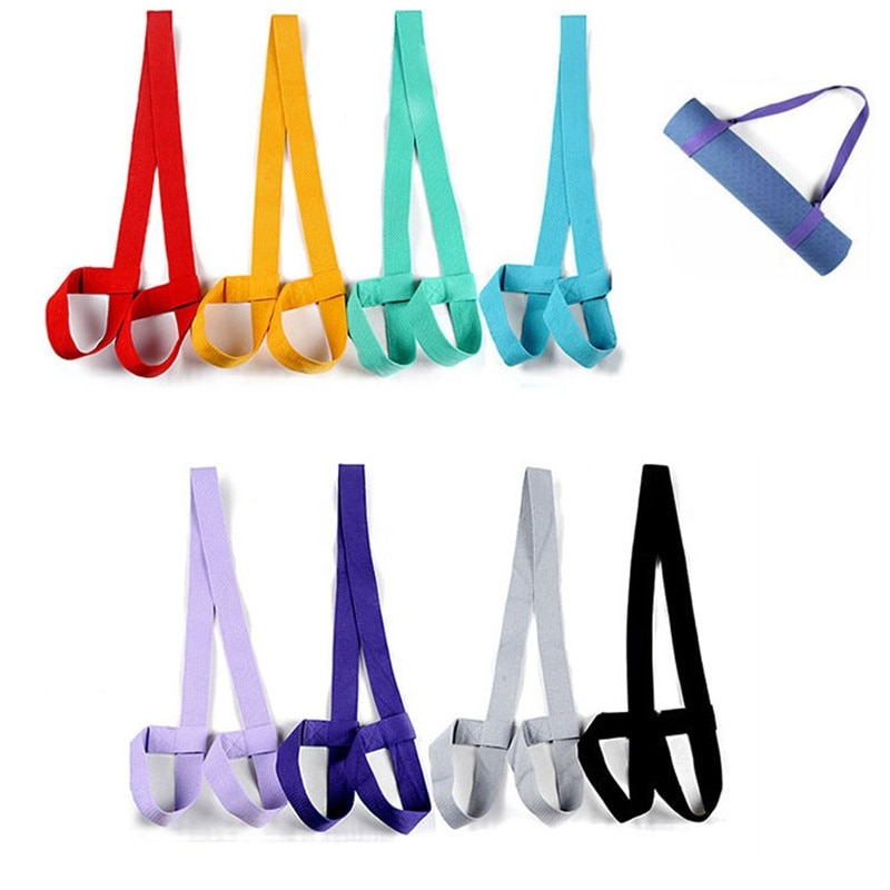 AliExpress - Adjustable Yoga Mat Belts Yoga Mat Shoulder Carrier Yoga Straps Exercise Stretch Yoga Belts Fitness Gym Sports Rope 165cm*3.8cm