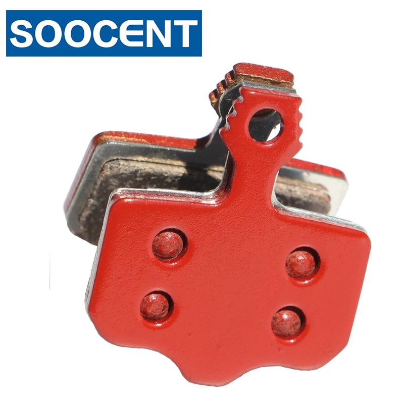4 pares de Pastillas de freno de bicicleta sinterizados rojos para SRAM AVID Elixir 1 3 5 7 9 R CR para SRAM XX X0 Avid DB1 DB3 MTB disco de bicicleta de montaña
