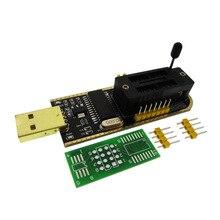 10 pcs ch340 ch340g ch341 ch341a 24 25 시리즈 eeprom 플래시 bios usb 프로그래머 (소프트웨어 및 driv 포함)