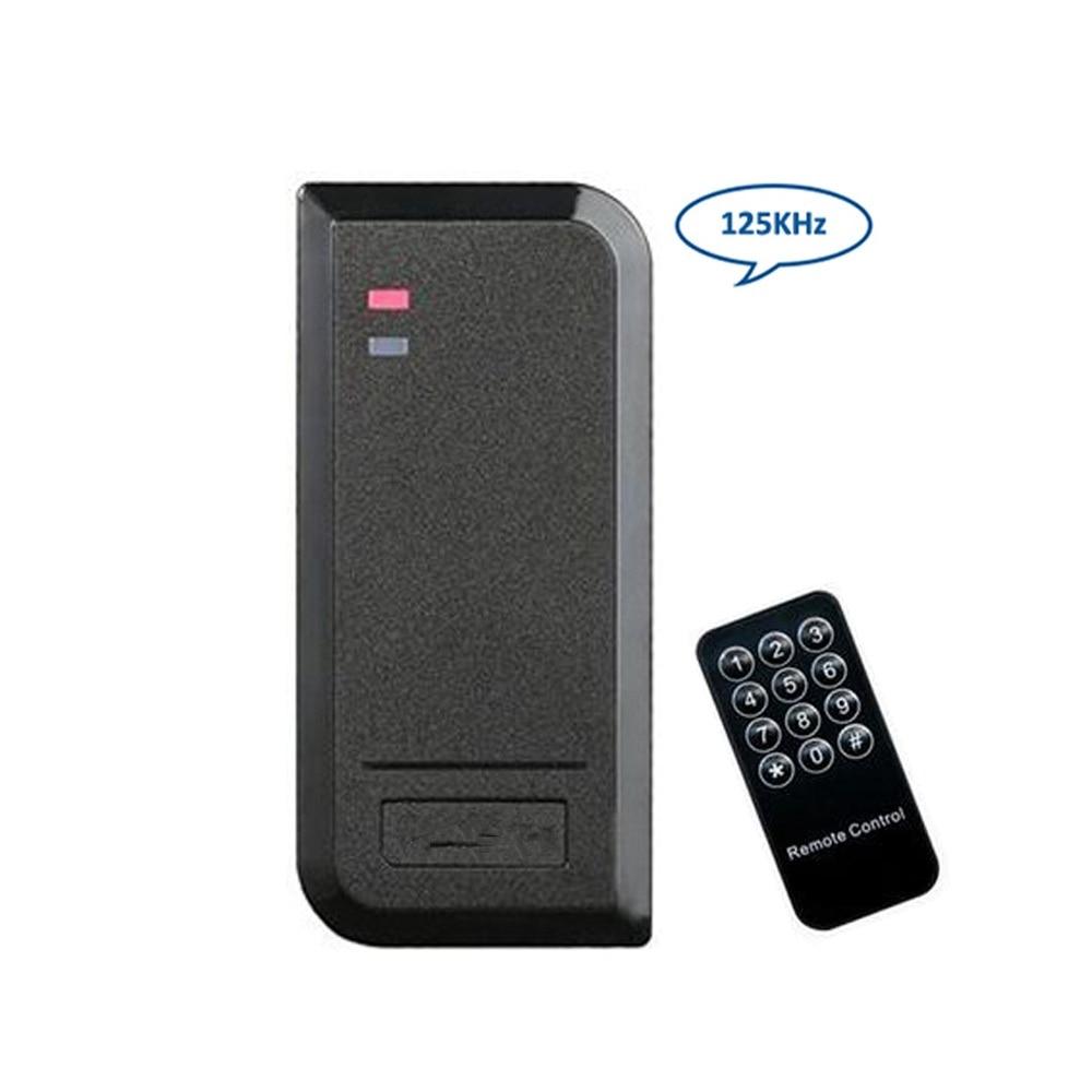 125KHZ tarjeta RFID independiente puerta Sistema de Control de Acceso controlador lector IP66 impermeable