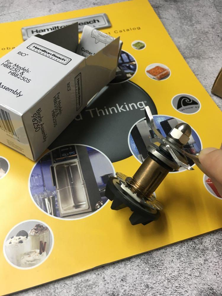 Frete grátis/novo liquidificador de borracha unidade embreagem se encaixa para hamilton beach blender 250/máquina conector