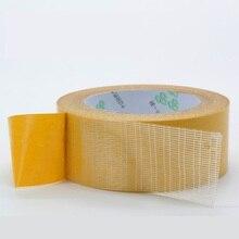 Ruban à grille haute viscosité   Ruban Double face fiber transparente, ruban en fiber double face transparent