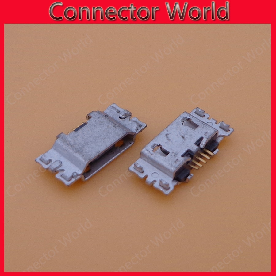 100 pçs/lote micro mini USB jack Carregamento Porto Conector Jack scoket Para MOTOROLA Moto G5 G5S Plus XT1682 XT1685