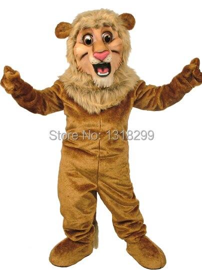 mascot Happy Lion King mascot costume fancy dress fancy costume cosplay theme mascotte carnival costume kits