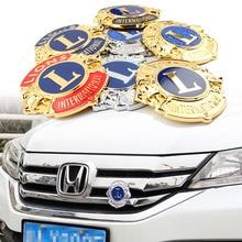 Badge demblème de vis de garniture pour Honda   Honda Ford Haval Jeep BYD Peugeot Volvo, personnalité Vintage, en 3D, livraison gratuite!