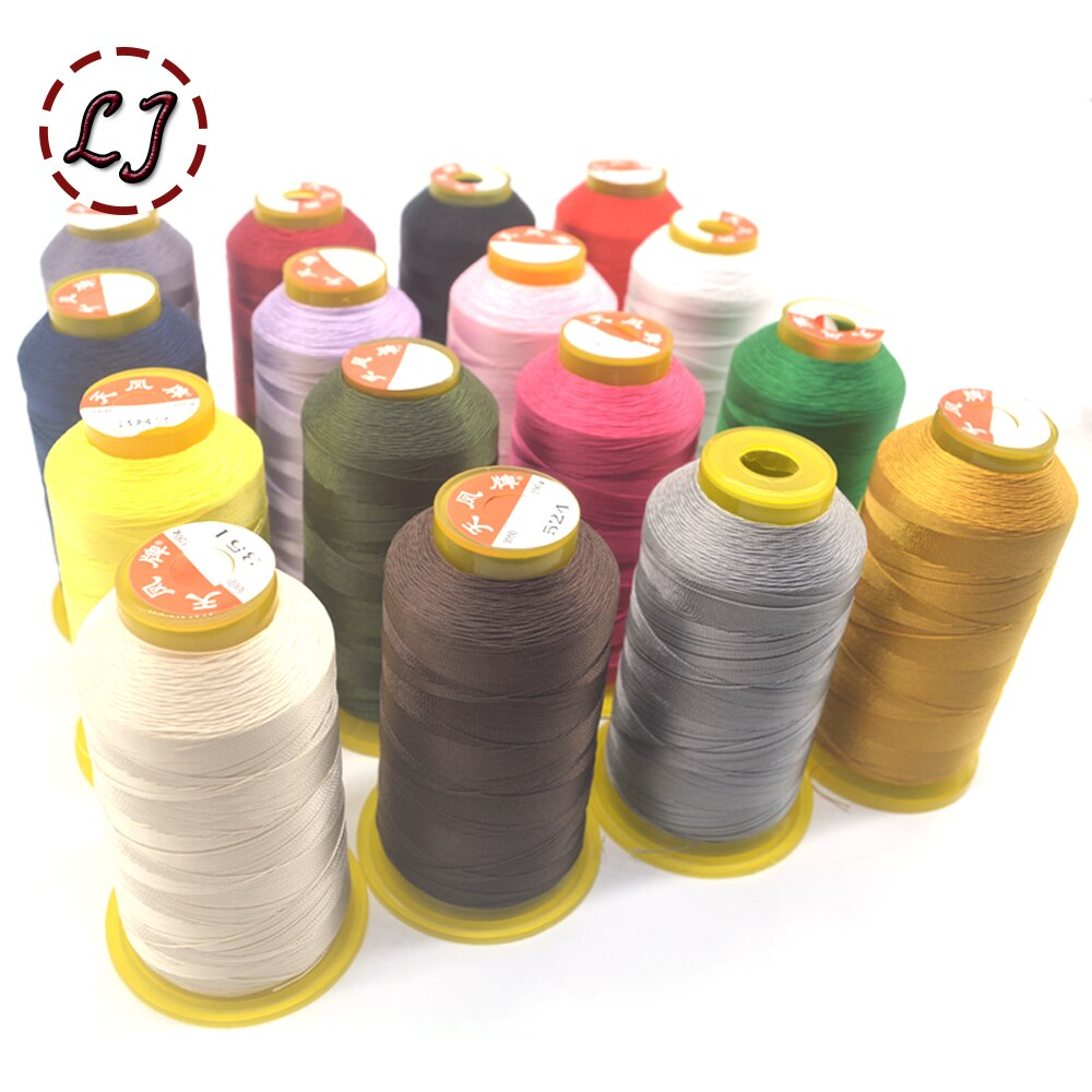 Бренд Высокое качество 800 м 300D/3 высокая прочность нить для швейной машины тонкие кожаные холщовые шторы аксессуары для одежды DIY
