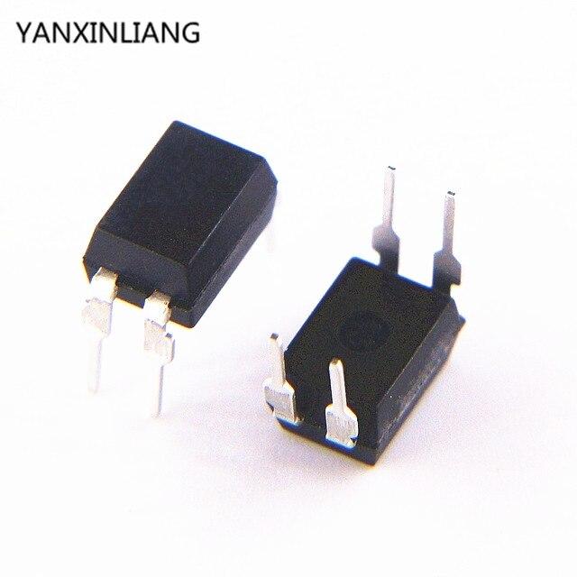 10 unids/lote LTV-814 LTV814 HCPL-814-00AE compatible optoacoplador PC814 DIP4 original auténtico
