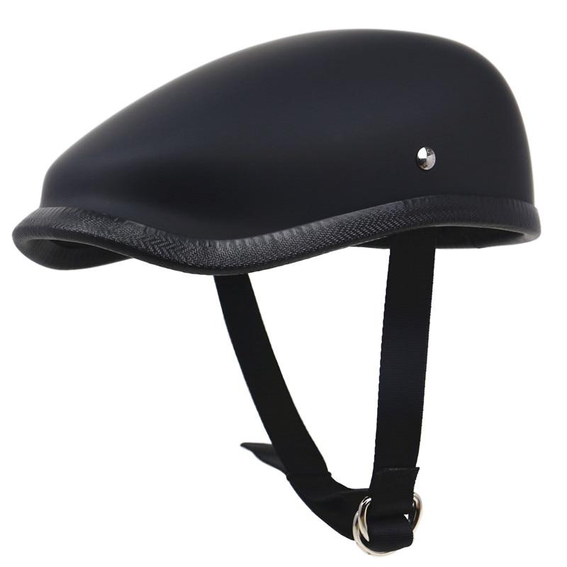 Японский стиль ретро мотоциклетный шлем Легкий вес стекловолокно моторный шлем 650 г только береты шлем для взрослых всадника