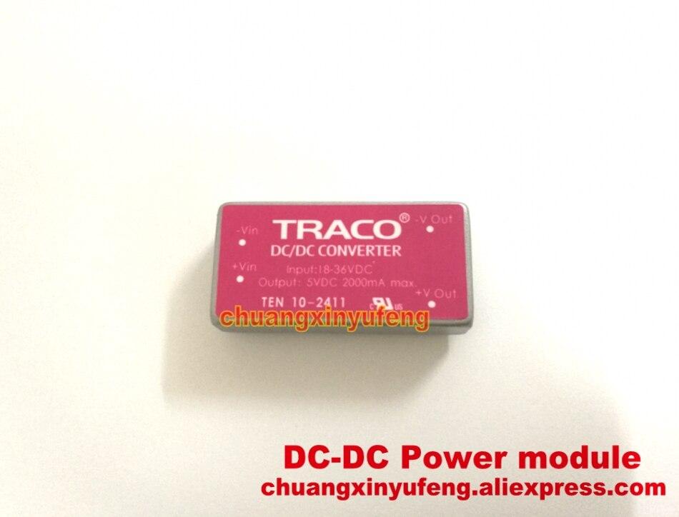Módulo de potencia TRACO TEN10-2411 DC-DC24V-5V módulo de potencia de 10W